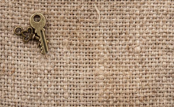 Antyczne klucze vintage wiele inny metal Zdjęcia stock © inxti