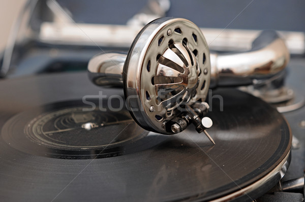 Vintage gramophone  Stock photo © inxti