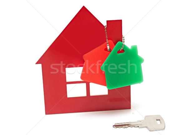 дома ключевые окна безопасности Финансы кольца Сток-фото © inxti