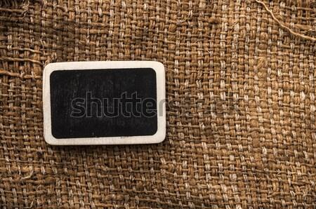 blank blackboard on vintage background. Stock photo © inxti