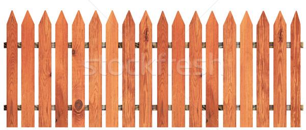 забор изолированный белый дизайна Сток-фото © inxti