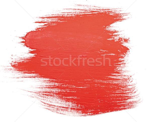 塗料 スクラッチ 孤立した 白 油 色 ストックフォト © inxti