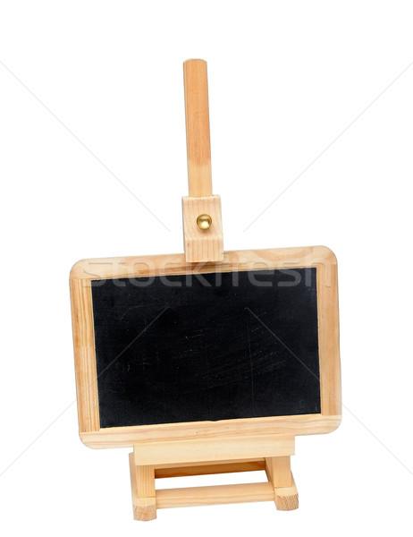 Pequeno lousa cavalete espaço texto textura Foto stock © inxti
