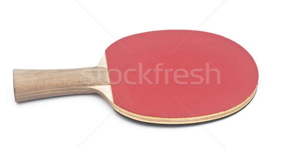 table tennis racket on white background  Stock photo © inxti