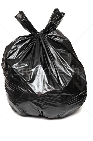 close up of a garbage bag on white background  Stock photo © inxti
