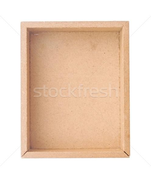 Fából készült láda háttér doboz konténer tok Stock fotó © inxti
