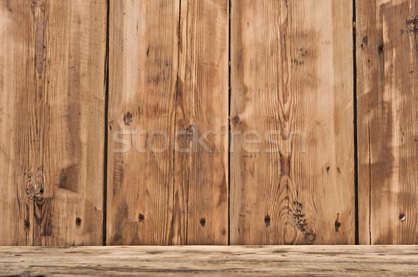 Volume legno shelf texture legno luce Foto d'archivio © inxti