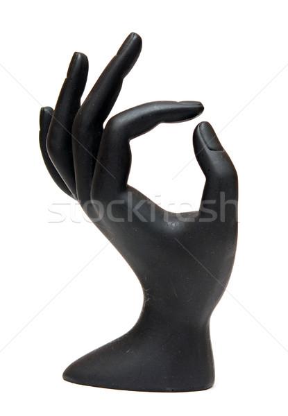 Mannequin main isolé blanche modèle Palm Photo stock © inxti