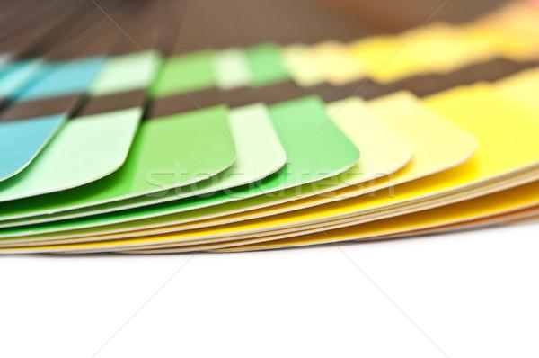 Kleur begeleiden spectrum regenboog witte Stockfoto © inxti