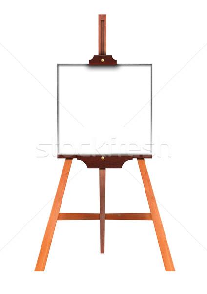 Kunst boord houten schildersezel Stockfoto © inxti