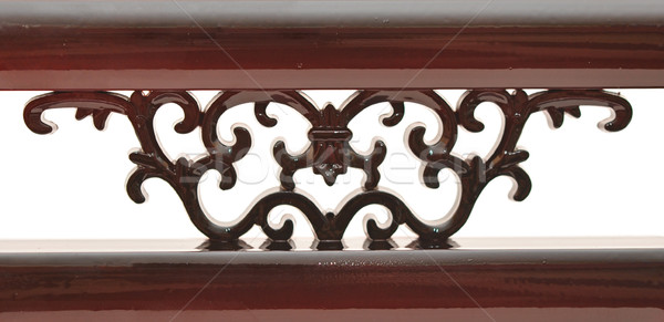 Carved wooden detail  Stock photo © inxti