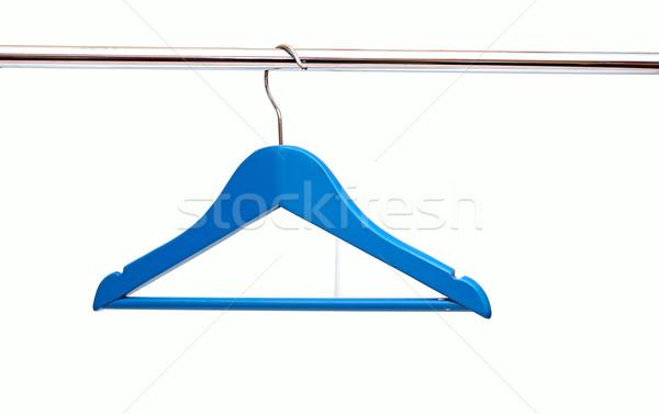 Blau Tuch Zeile weiß Shirt Stock foto © inxti