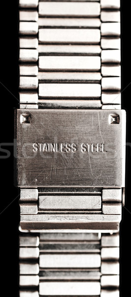 Stainless steel background of Pure metal Stock photo © inxti
