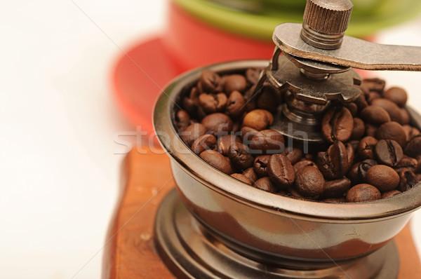 コーヒー グラインダー クローズアップ 表示 美 生活 ストックフォト © inxti