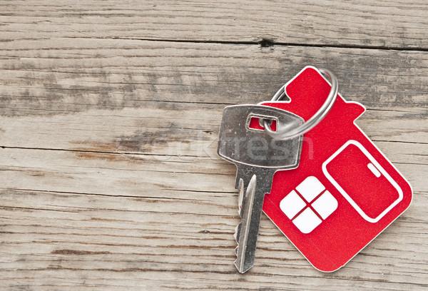 Zdjęcia stock: Kluczowych · blokady · domu · ikona · streszczenie · bezpieczeństwa