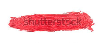 Red brush strokes  Stock photo © inxti