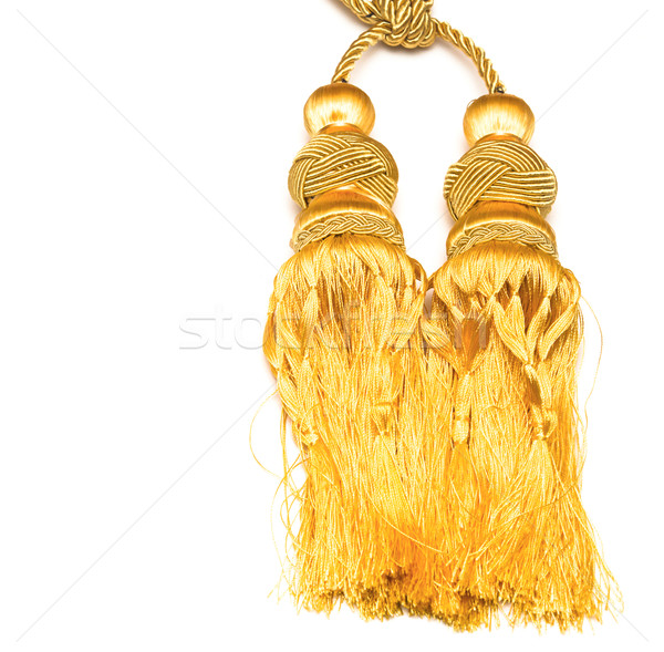 golden knot top tassel  Stock photo © inxti