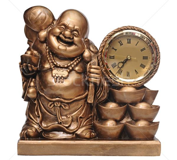statuette of Chinese god - Hotei Stock photo © inxti