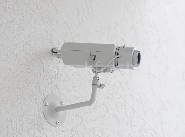 video camera security system on the wall.  Stock photo © inxti