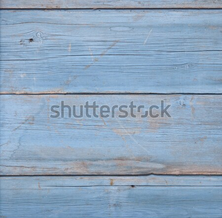 Wall from wooden planks with paint traces  Stock photo © inxti