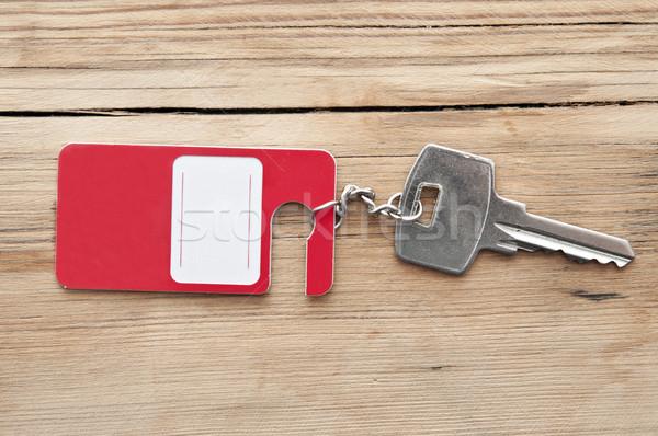 key with blank label  Stock photo © inxti