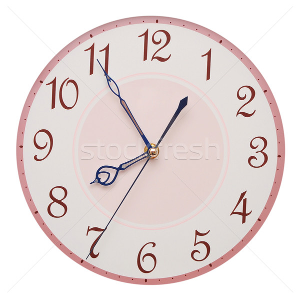 clock face isolated on white background - time concept  Stock photo © inxti