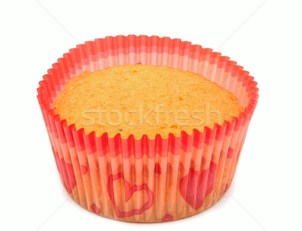 cupcakes with fruit filling isolated on white  Stock photo © inxti