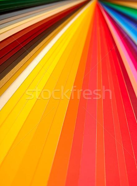 Color orientar primer plano diseno impresión tabla Foto stock © inxti