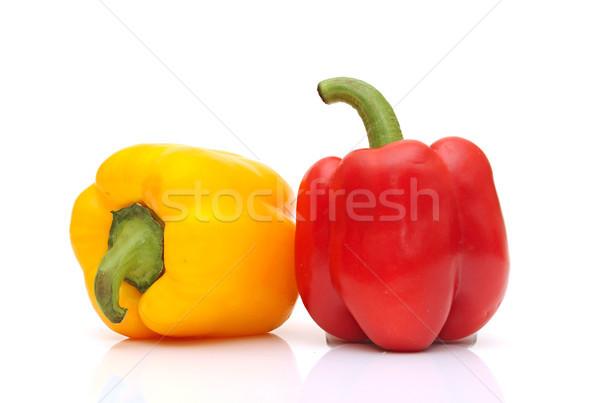 fresh paprika  isolated on white Stock photo © inxti