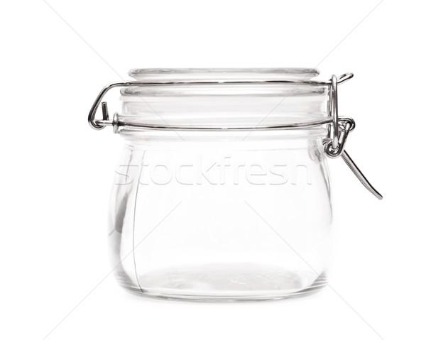 Pojemnik pusty jar blisko Zdjęcia stock © inxti
