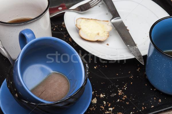 Mutfak gerek yıkamak kirli Stok fotoğraf © inxti