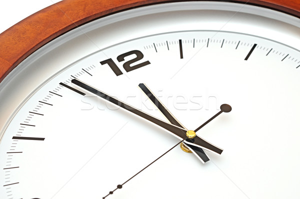close up of wall clock Stock photo © inxti