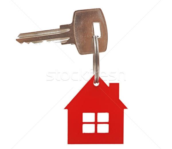 Zdjęcia stock: Klucze · odizolowany · biały · domu · tle