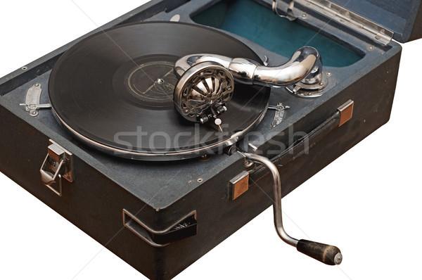 Phonograph  Stock photo © inxti