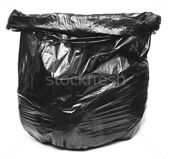 Garbage bag on white background  Stock photo © inxti