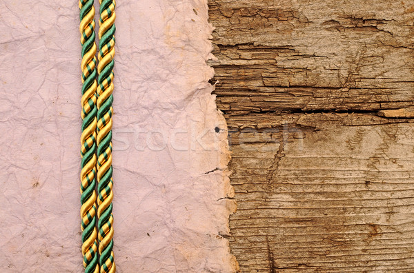 old vintage ancient paper parchment background texture  Stock photo © inxti