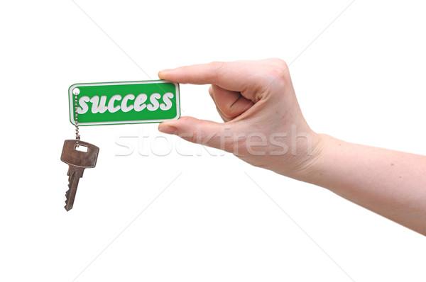 Handing over keys to success Stock photo © inxti