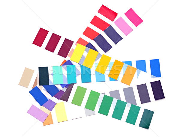 color palette Stock photo © inxti