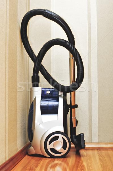 Aspirador de pó tecnologia piso máquina vassoura poeira Foto stock © inxti