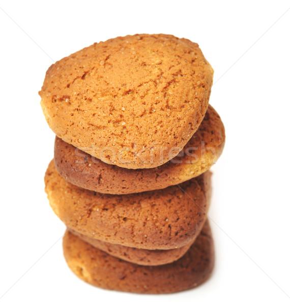 fresh oats cookies Stock photo © inxti