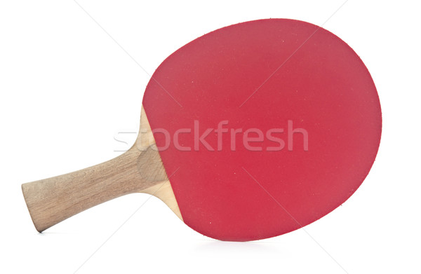 table tennis racket on white background  Stock photo © inxti