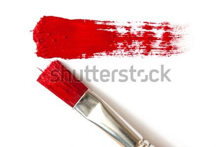 ブラシ 塗料 スクラッチ 油 色 スタジオ ストックフォト © inxti