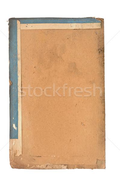 old book page. grunge textured background  Stock photo © inxti
