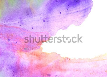 Abstract watercolor on paper texture for background  Stock photo © inxti