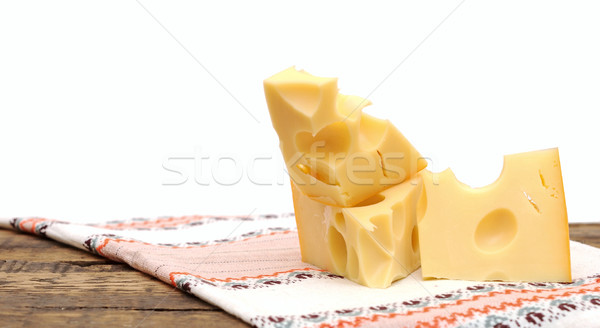 cheese on wood  Stock photo © inxti