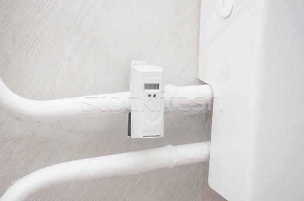Calor dispositivo radiador poder números medida Foto stock © inxti