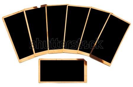 Old photo paper  Stock photo © inxti