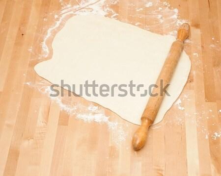 классический скалка подготовленный кухне Сток-фото © inxti