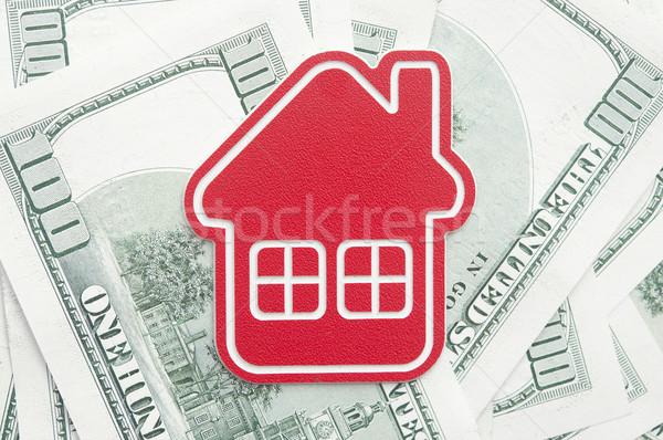 赤 ホーム にログイン 100 不動産 ストックフォト © inxti