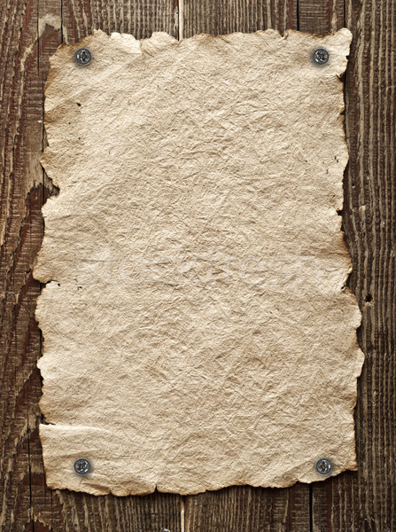 Régi papír fa fal háttér tapéta poszter Stock fotó © inxti